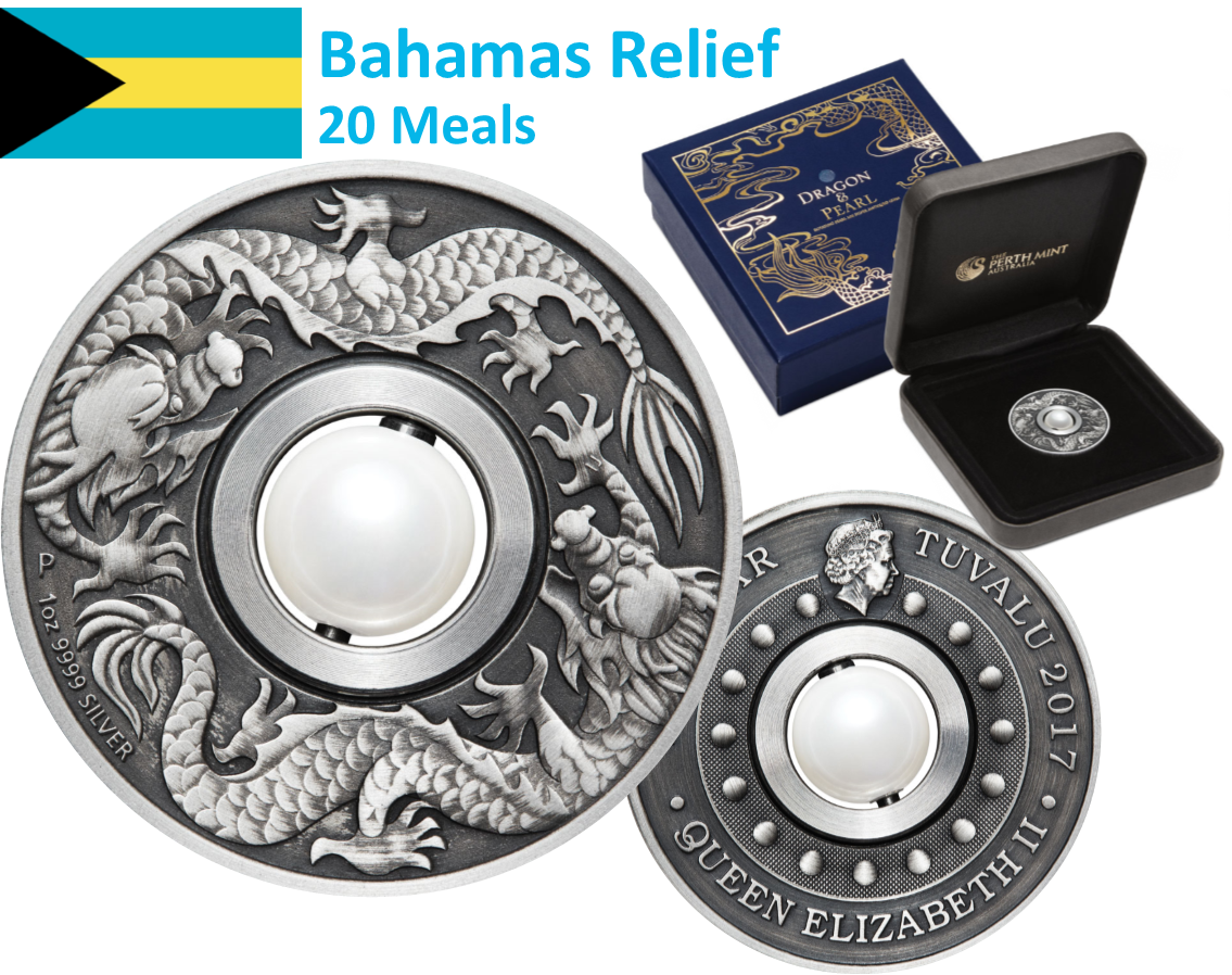 Bahamas Relief Support through Silver Coins